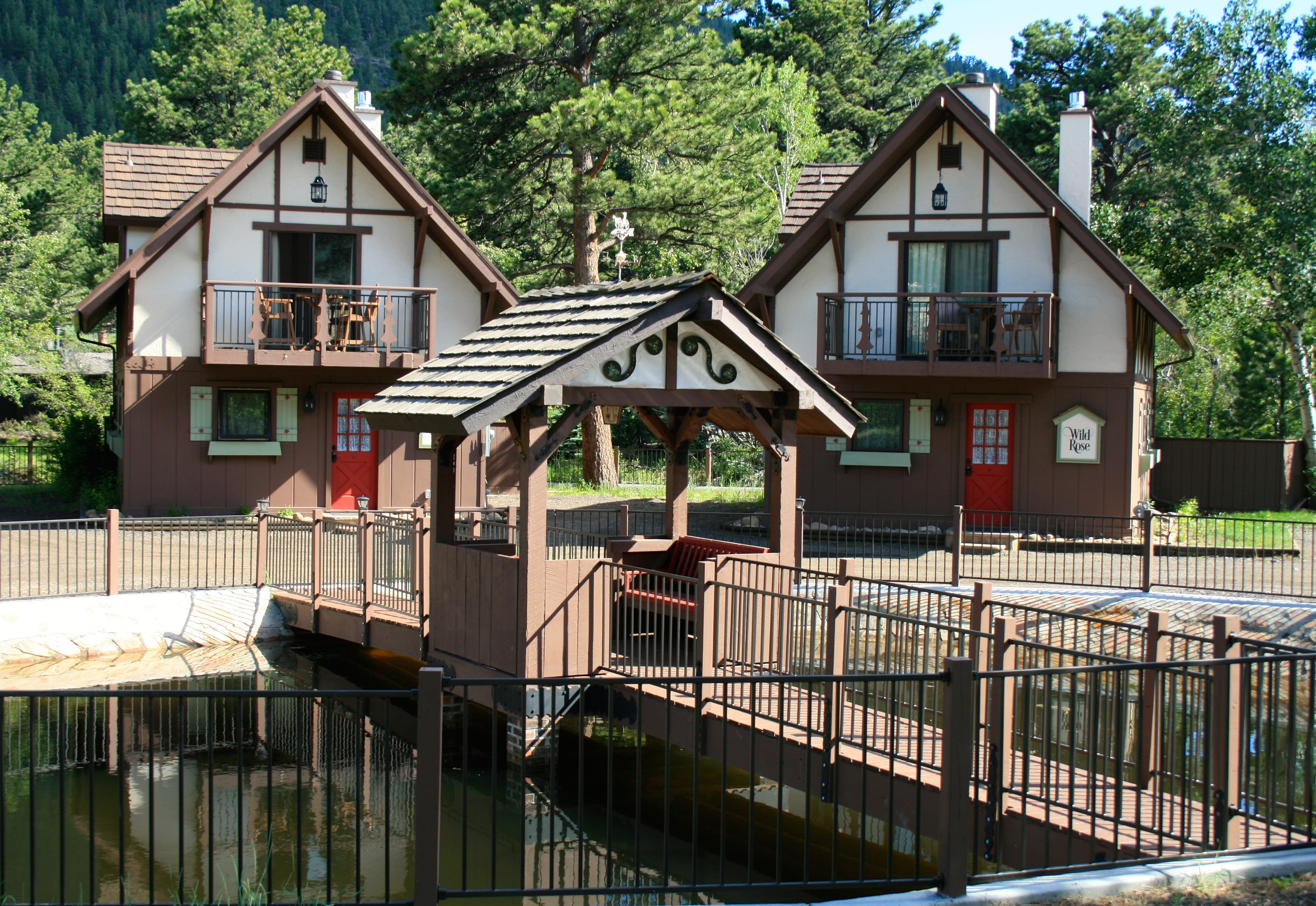 the landing estes park photo gallery Photo Gallery Pond and Cabins