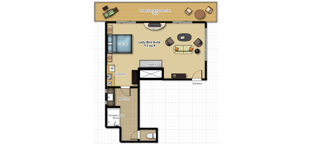 lady bird suite Lady Bird Suite LADY BIRD FLOOR PLAN