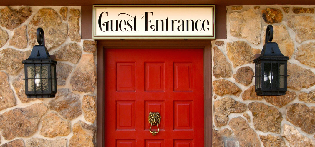 the landing estes park photo gallery Photo Gallery guest entrance