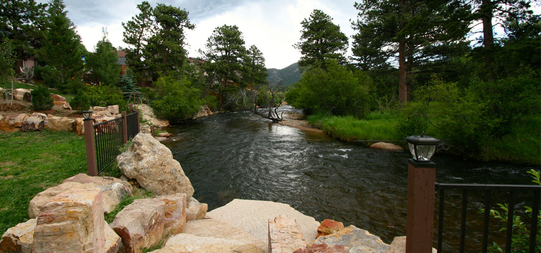 the landing estes park photo gallery Photo Gallery the landing steps to river