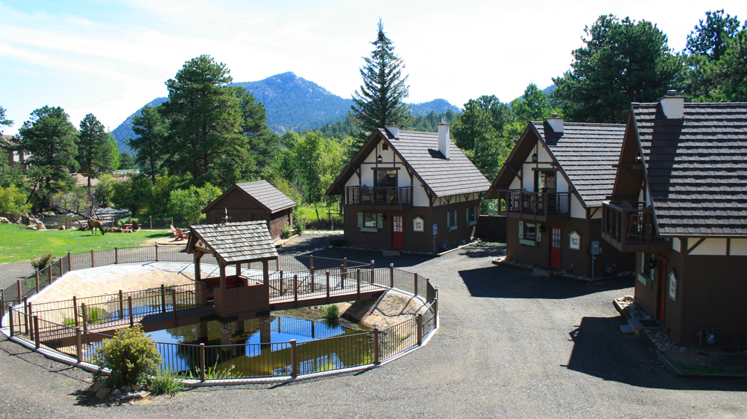 the landing estes park photo gallery Photo Gallery Estes Park River Cabins Pond