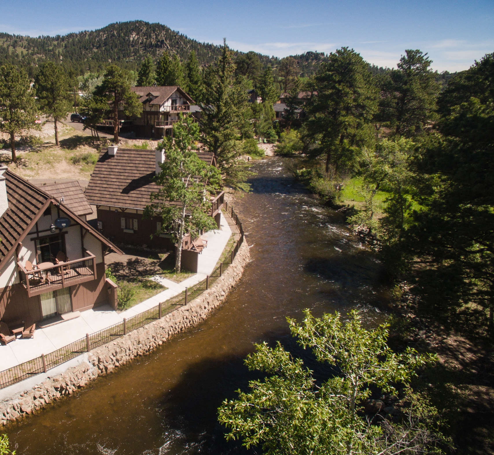 the landing estes park photo gallery Photo Gallery The Landing River View